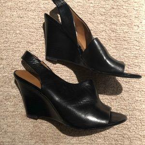 Franco Sarto Shoes - Franco Sarto Leather Wedges